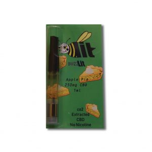 buzzlit 250mg APPLE PIE CBD vape