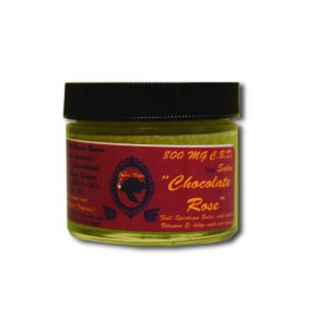 800 mg Chocolate Rose CBD Salve